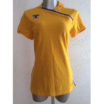 Playera Polo Tigres Dama Mujer 2010-11 Adidas 1000% Original