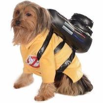 Disfraz De Ghostbusters Caza Fantasmas Para Perros Mascotas