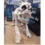 Esqueleto De Perro Con Ojos Luz Led