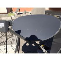 Antena Elíptica Genérica Similar A La 75e, De 93 Cm,metálica