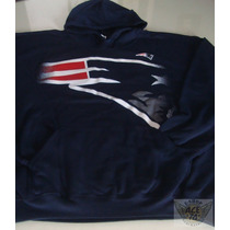New England Patriotas Sudadera Mod Logo Talla Xl Nfl Danbr68