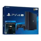 Playstation 4 Pro Ps4 Pro Con Juego Nuevo