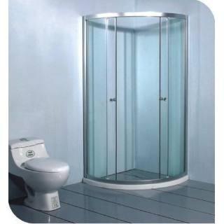 Cabina de ba o en cristal templado y cancel de aluminio - Cabina de bano ...