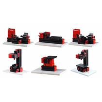 Mini Torno 6 En 1 Torno/maquina De Corte/lijadora/ Fresador