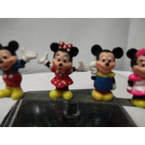 Mini Figuras De Mickey Mouse Disney Set De 4 Piezas
