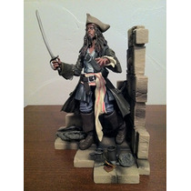 Capitan Jack Sparrow Figura De Accion Disneyland Resort