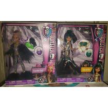Monster High Halloween Tenebroso (cleo Y Clawdeen Wolf Loba)