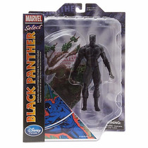 Marvel Select Black Panter Figura Colección Disney Store Exc