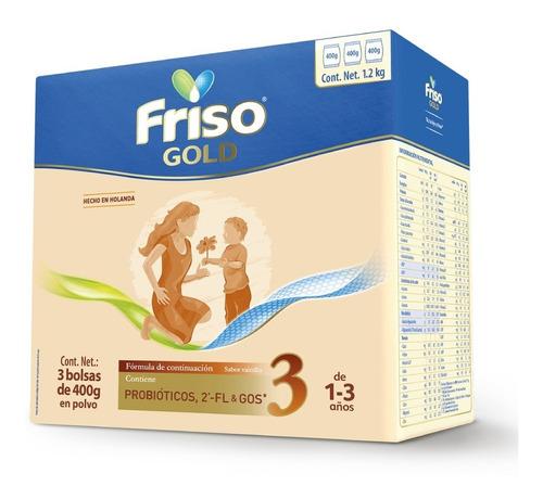 Friso Gold 3 Caja Con 3 Bolsas De 400gr