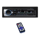 Reproductor Mp3 1 Din Con Bluetooth Y Auxiliar Para Auto