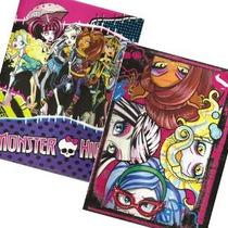 2pk Monster High Carpeta Portafolio Escolar Pee Chee 2 Bolsi