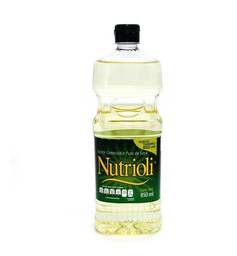 Nutrioli Aceite Vegetal Botella 800 Ml