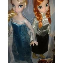 Set Frozen Patines Elsa Y Ana Disney Frozen Patinadoras