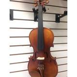 Violin 4/4 Tipo Antiguo Mate Mv012bm-4/4 Estuche Arco Brea +