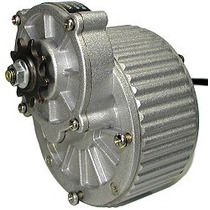 Motor Dc 24 V 250 W Con Reductor Bici Kart Gokart