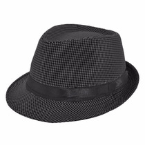 Sombrero Ala Negro Unisex Vintage Hipster Hombre Mujer