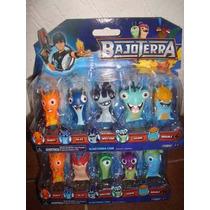 Bajoterra Pack Babosas 5 Pcs Colección Slugterra