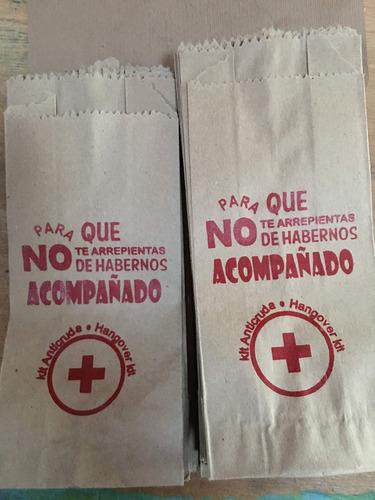 213141f71 Paquete De 100 Bolsas De Papel Kraft Personalizadas en venta en ...