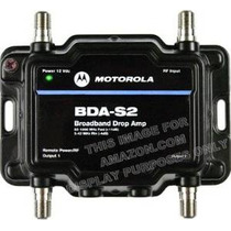 Motorola Signal Booster 2-port Bda-s2 Cable Módem Tv Hdtv Am