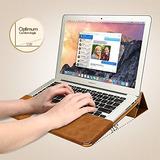 Macbook Air De 13 Caso, Jisoncase Libro Protectora Del Tirón