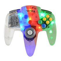 Control Clasico Pc Nintendo 64 Usb Led Retrolink Emulador