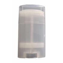 10 Plastico Transparente 15ml Oval Contenedor Desodorante