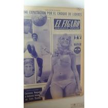 Periódico Antiguo El Figaro Carlos Reynoso 1971