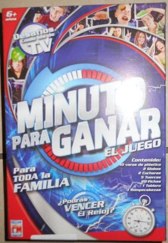 Juego De Mesa Minuto Para Ganar Version Mini 170 En Melinterest