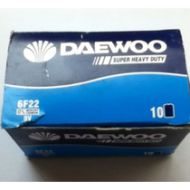 Pilas Daewoo 9 Volts Caja Con 10 Pilas