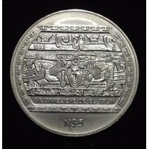 Moneda Bajo Relieve De El Tajín 1 Onza De Plata Ley 0.999