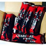 Carbón Charcoal Para Shisha Hookah Narguilé 33mm 100pzs