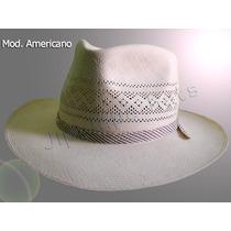 Sombrero Americano Calado Jipijapa (panamá) Ala Grande Lbf
