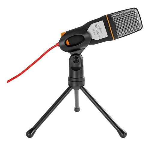 Redlemon Microfono Condensador Semiprofesional Mini Tripie