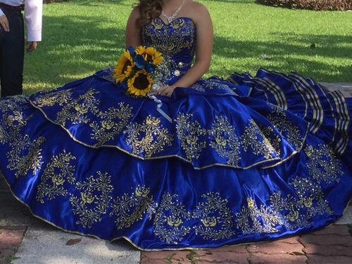 06fce89b4d Vestido Xv Charro Azul Rey en venta en Manzanillo Colima por sólo ...