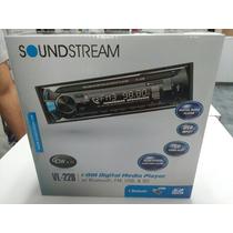 Estereo Soundstream Vl22 Con Bluetooth Nuevo