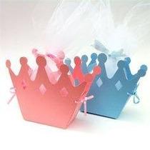 30 Cajas Corona De Princesa. Xv Años Mesa De Dulces Recuerdo