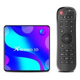 X88 Pro 10 Android 10.0 Smart Tv Box Uhd 4k Media Player