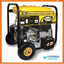 Generador Trifásico De 9 Kva Pico Con Motor Thunder De 16 Hp
