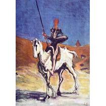 Lienzo Tela Don Quijote Por Honoré Daumier 70 X 100 Cm