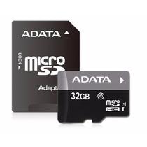 Memoria Micro Sd Adata 32gb Adaptador Clase 10 Tablet Mdn