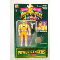 Figura Mighty Morphin Power Rangers Amarillo Trini Acción