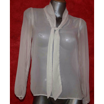 Blusa Foreing Exchange Chiffon Talla S Solo $ 99.00