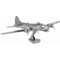 Rompecabezas 3d Avion B17 Flying Fortress Metal Fascinations