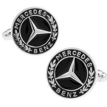 Mancuernillas Mercedes Benz Logo Auto De Lujo Gemelos