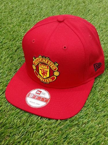 Gorra Manchester United Original New Era Unitalla 7dd1d26395b