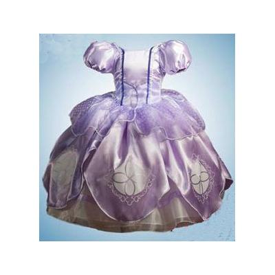 Diseño del vestido dela princesa sofia