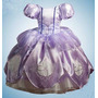 Vestido Princesa Disfraz Princesa Sof�a Corona Amuleto Zapat