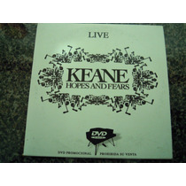 Keane Live Dvd Hope And Fears De Coleccion