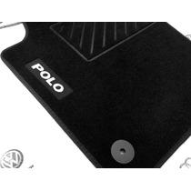 Juego 4 Tapetes Vw Polo Nuevos Originales Alfombra Negro