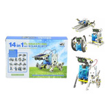 Robot Solar Kit 14 Diseños En 1 Armable Con Panel Solar